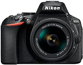Nikon D5600 Digital Camera 18-55mm VR Kit (Black)