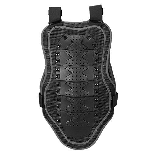 Motorrad-Ganzkörperrüstung Motorrad Body Brust Spine Protector Rüstung Weste Schutzausrüstung für Dirtbike Bike Motorrad Motocross Ski Snowboard Rückenschutz (Farbe : Schwarz, Größe : M)