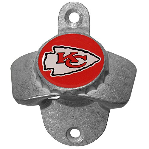Siskiyou NFL Kansas City Chiefs Wand-Flaschenöffner Chief Wand