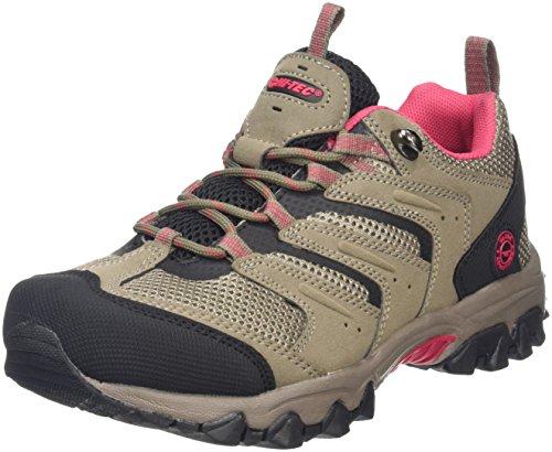 Hi-Tec Acacia II Womens, Zapatillas de Deporte Exterior para Mujer, Beige (Taupe/Black/Rose...