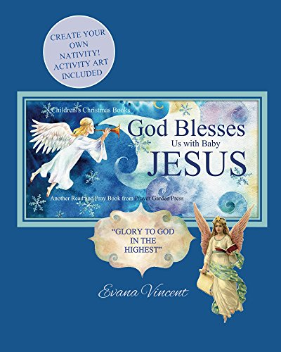 God Blesses Us with Baby Jesus Children's Christmas Books (God Blesses Us Read and Pray Book 5) (English Edition)