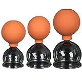 3er Schröpfglas-Set mit Ball 45-55-65mm zum professionellen