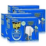 4x Raid Mücken Stecker und Nachfüller für ca. 45 Nächte Mückenfrei