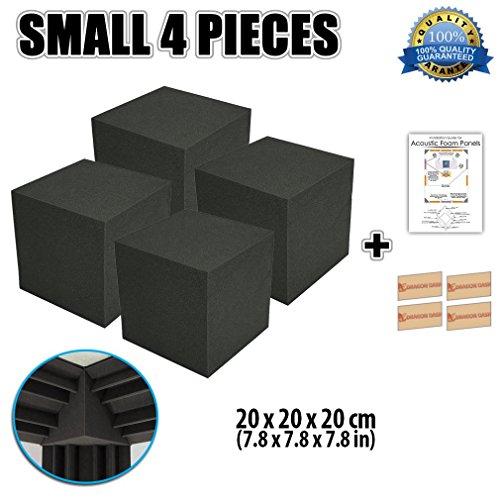 super-dash-4-pieces-of-20-x-20-x-20-cm-bass-trap-acoustic-home-studio-soundproof-treatment-accessori