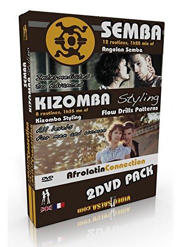 Erfahren SEMBA Kizomba Styling 2DVD Pack - Anfänger bis Fortgeschrittene -