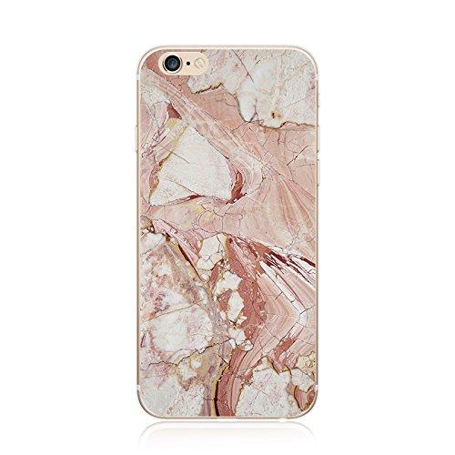 Coque iPhone 7 Housse étui-Case Transparent Liquid Crystal marbre en TPU Silicone Clair,Protection Ultra Mince Premium,Coque Prime pour iPhone 7 (2016)-style 13 iphone5-18