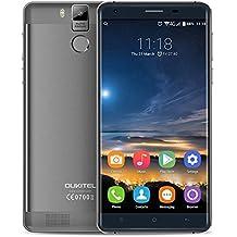 """OUKITEL K6000 Pro - Smartphone 4G LTE (Android 6.0, Pantalla 5.5"""", Cámara 8MP+16MP, Octa Core, 3G+32G, 0.3s Fingerprint de Desbloqueo, HotKnot, Estructura de Aleación )"""