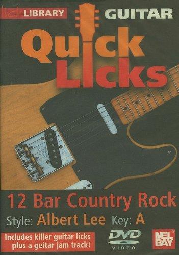 Preisvergleich Produktbild Guitar Quick Licks - 12 Bar Country Rock / Albert Lee