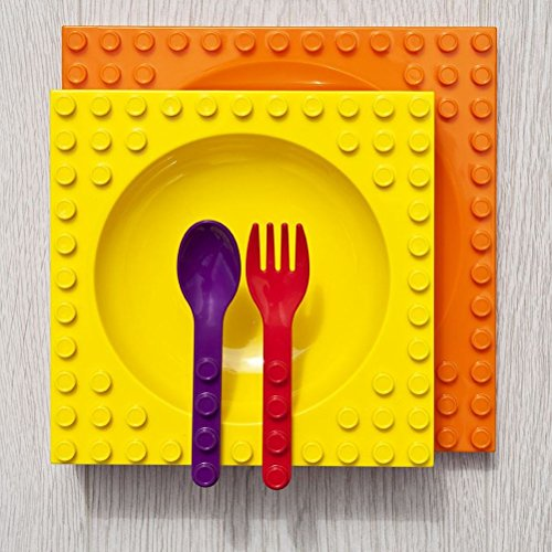 mysunshine-placematix-imbriques-enfants-de-table-lot-de-plaque-bol-couverts-dinner-set