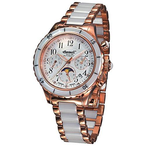 Ingersoll IN2712RWHM - Reloj para Mujeres, Correa de Metal