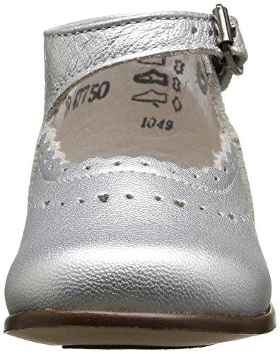 Little Mary Honfleur, Chaussures premiers pas bébé fille Argent (Metal Argent)