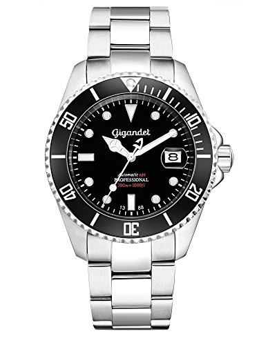 Gigandet SEA GROUND G2-002 - Orologio Sport immersione uomo/donna automatico