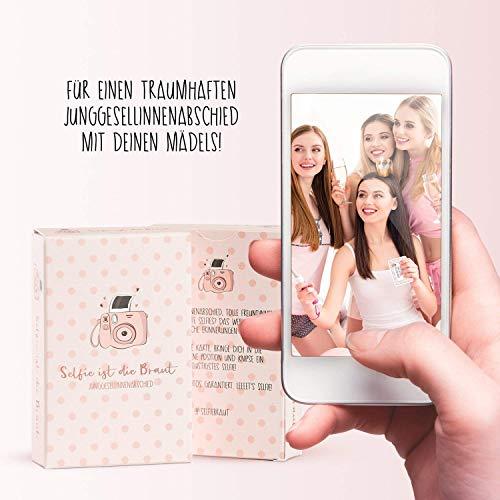 Selfie ist die Braut | JGA Spiel - 4