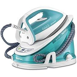 Tefal GV 6720 2200W Ultragliss Green,White steam ironing station - steam ironing stations (Ultragliss soleplate, green, White)
