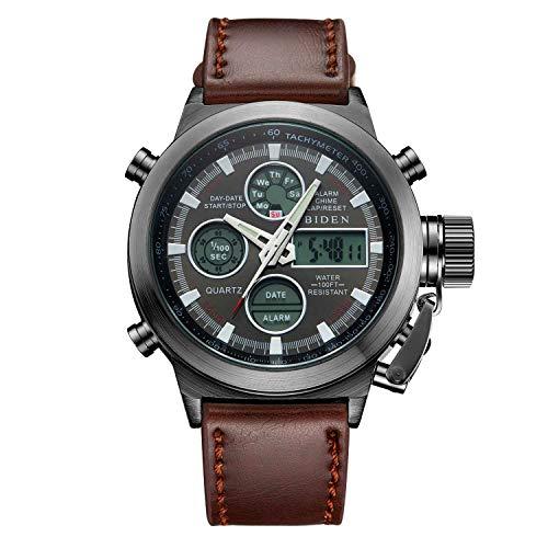 18bebfd2b Reloj reloj analógico deportivo digital para hombre reloj impermeable