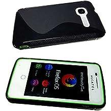 funda Alcatel One Touch Idol Mini 6012 D/X/A/W TPU-Carcasa , Protección contra choques para el smartphone (funda carcasa en transparente)