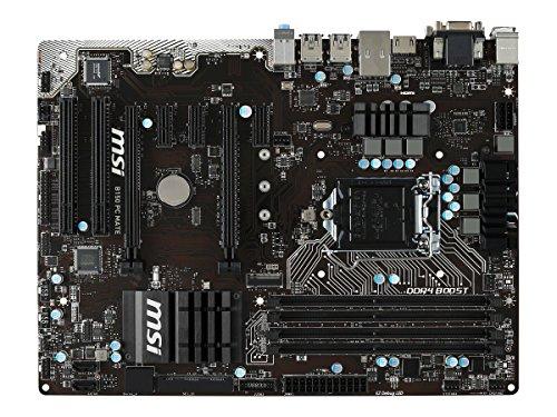 MSI Intel Skylake B150 LGA 1151 DDR4 USB 3.1 ATX Motherboard (B150 PC Mate)