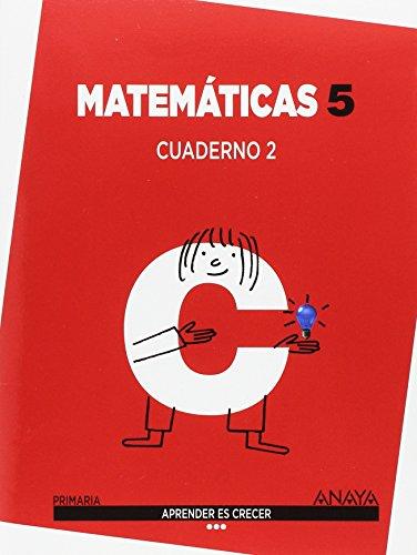 Aprender es Crecer, matemáticas, 5 Educación Primaria (Galicia). Cuaderno 2 - 9788467870725