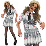 School Girl Zombie - Halloween - Adulto Disfraz - XL - 48-50