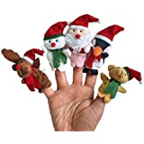 OliaDesign Preschool Kindergarten Christmas Finger Puppets (5 Piece) by OliaDesign®