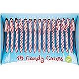 15 Paquetes de Bastones de Caramelo de Hierbabuena de árbol de Navidad - Dulces de Decoración