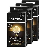 Preisvergleich für Billy Boy Goldschatz Kondome, 8 verschiedene Sorten, 3er Pack (3 x 24 Stück)