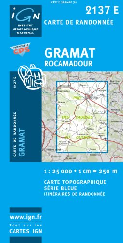 Gramat/Rocamadour GPS: IGN2137E