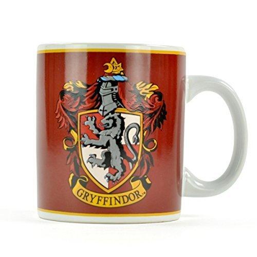 Half Moon Bay MUGBHP04 Harry Potter Gryffondor House Crest Mug Tasse à Café, Céramique, Rouge foncé, 12 x 10 x 8,5 cm