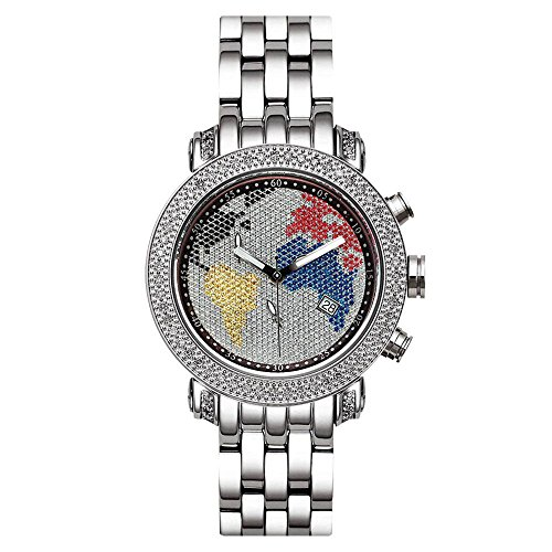 Joe Rodeo Diamond Ladies Watch - PASSION silver 0.6 ctw