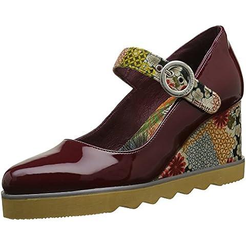 Desigual Jazz Japocolage, Zapatos de Plataforma Para Mujer