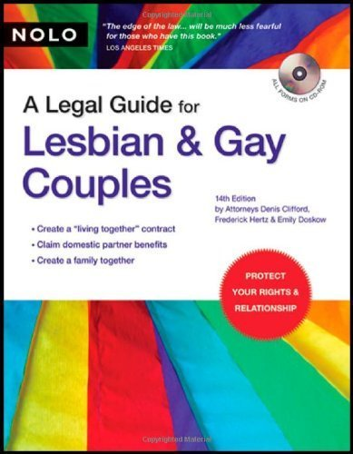 A Legal Guide for Lesbian & Gay Couples by Denis Clifford (2007-08-02)