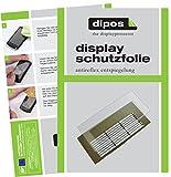 dipos I 2X Schutzfolie matt passend für Jura Z- Serie Z6 + Z8 Tropfblech Folie Displayschutzfolie