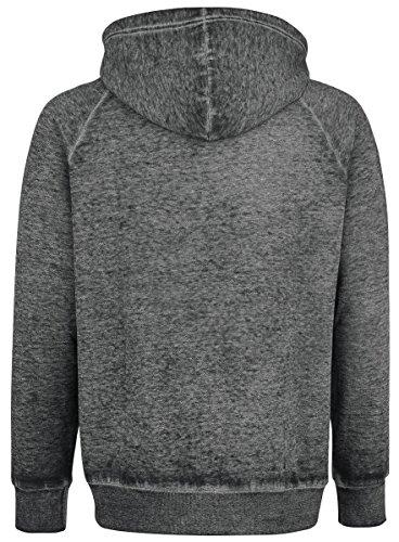Black Premium by EMP Burnout Zipper Sweat à capuche zippé gris Gris