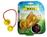 #8: LED Light Up Finger YOYO Balls Toys Thumb Chucks Bundle Control Roll Anti Stress - Assorted color