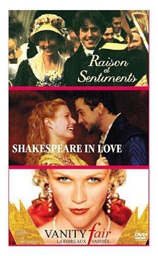 raison-et-sentiments-shakespeare-in-love-vanity-fair-la-foire-aux-vanites-tripack-3-dvd
