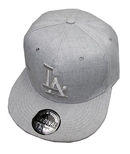 LA Los Angeles Snapback Cap Caps (grau)
