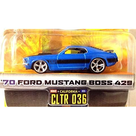 DUB CITY BIG TIME MUSCLE / '70 FORD MUSTANG BOSS 429 / Blue w Black (70 Boss 429 Mustang)