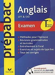 Anglais Tle toutes séries LV1 et LV2 : Examen