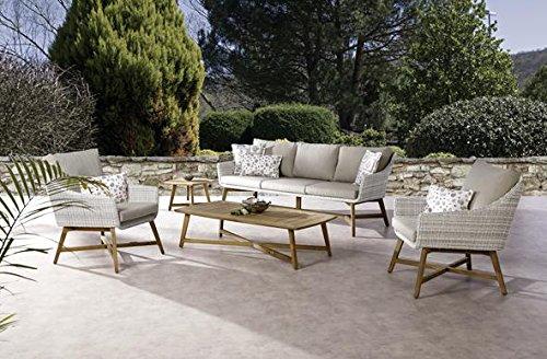 Besser Möbel GmbH Loungegruppe Gartengruppe Loungemöbel Gartenmöbel Garten-Set Teak Gartengarnitur