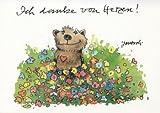 Janosch Postkarte Ich danke von Herzen