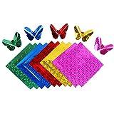 Demarkt 50x Origamipapier Faltpapier Faltblätter Origami