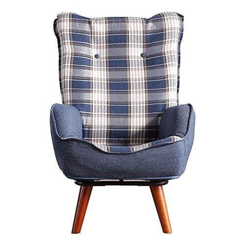 Wuxingqing Klappstühle Gepolsterter Sessel Gepolsterter Stuhl Kindercouch Kindersofa Kleinkinderstühle (Farbe : Blau, Größe : 54 * 63 * 93cm) -