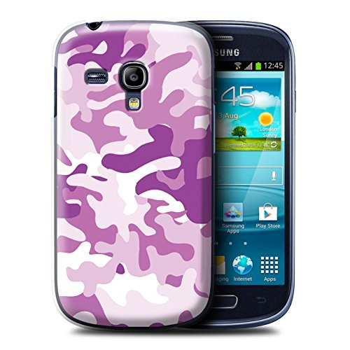 Stuff4® Hülle/Hülle für Samsung Galaxy S3 Mini/Rosa 1 Muster/Armee/Tarnung Kollektion Samsung Galaxy S3 Camo