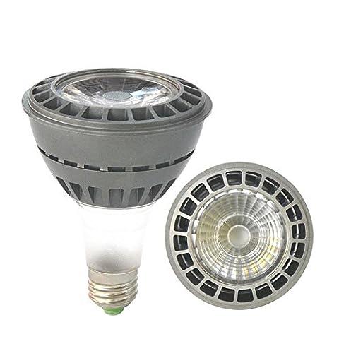 OOFAY 2PCS E27 LED PAR30 COB Lights Power Lights IP44