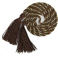 1par de cuerdas con borlas, para decorar las cortinas del salón o del dormitorio y de 135cm