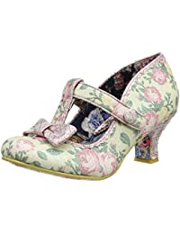 Irregular Choice Womens Lazy River Closed-Toe Heels