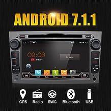 """Android 7.1 Quad Core 7"""" GPS autoradio per Opel Astra Vectra Zafira Antara corsa radio navigazione stereo audio e video color grigio libero macchina fotografica e di & Canbus"""