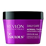 REVLON PROFESSIONAL Be Fabulous Daily Care Normal/Thick Hair C.R.E.A.M. Mask, 200 ml