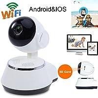 Asiright 720p Home Monitor Red HD Teléfono Móvil Mando a Distancia Cámara Inalámbrica Vigilancia
