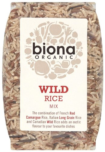 Biona Organic Wild Rice Mix 500 g (Pack of 3)